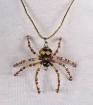 beaded spider tutorial jewelry - Google Search