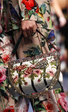 Dolce & Gabbana SS2016 (details) Women's Fashion RTW | Purely Inspiration