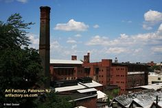 The complex of studios, galleries and shops at the Art Factory in Paterson NJ