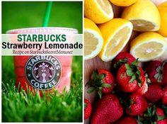 Starbucks classic Strawberry Lemonade! #starbuckssecretmenu Recipe here: http://starbuckssecretmenu.net/starbucks-secret-menu-strawberry-lemonade/
