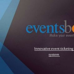 Innovative event ticketing system   Cost effective events ticketing eventsbot is the cost-effective ticketing system with the innate capabilities to manag. http://slidehot.com/resources/innovative-event-ticketing-system.46268/