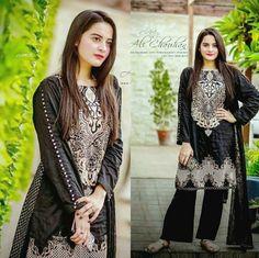 Gorgeous Aiman Khan Beauty in Black ❤ #AimanKhan #LoveHer #Beautiful  #Cutie #PrettyGirl #PakistaniFashion #PakistaniActresses ✨ Beautiful Red Dresses, Beautiful Dress Designs, Nice Dresses, Casual Dresses, Awesome Dresses, Fabulous Dresses, Party Wear Lehenga, Party Wear Dresses, Frock Fashion