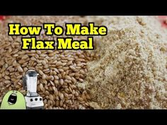 DIY Flax Meal