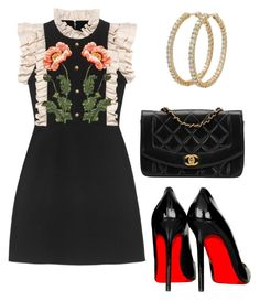 """""""Untitled #716"""" by mchlap on Polyvore featuring Gucci, Roberto Coin and Chanel"""