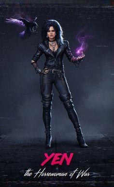 The Witcher 3, Witcher Triss, Witcher Art, Ciri, Mode Cyberpunk, Cyberpunk 2077, Cyberpunk Aesthetic, Game Character, Character Design