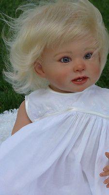 "E"" BY LINDA MURRAY! Reborn Toddler Dolls, Child Doll, Reborn Dolls, Reborn Babies, Beautiful Babies, Beautiful Dolls, Realistic Baby Dolls, Lifelike Dolls, Cute Baby Dolls"