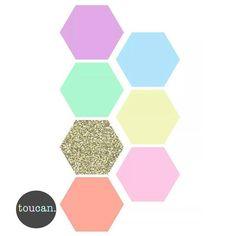 Hexagon Print – Pops of Neon Card Stock, Eyeshadow, Neon, Art Prints, Cards, Image, Kids Rooms, Art Impressions, Eye Shadow