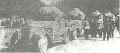 Very rare (if weathered) photograph of the four Rolls Royce armored cars in Iranian army service delivered to Iran in 1924. Note the rounded copula. The vehicle was armed with the Vickers .303 machine gun. The sturdy Rolls Royce may have been used by the Iranian army to disarm tribal rebels in Iran's south and southwest