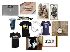"""Sherlock"" by queen26yassy ❤ liked on Polyvore featuring WALL and Vans"