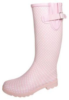 Polka Dots gegen Regen! Anna Field Gummistiefel - pink für 29,95 € (05.02.15) versandkostenfrei bei Zalando bestellen.