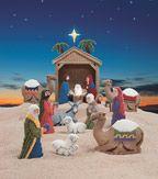 Plastic Canvas Nativity Set