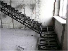 кованая лестница, кованый каркас