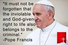 YES - indeed our God-given right to life belongs to all of us - not just some - but all