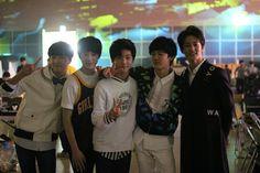 Donghyuck, Jeno, Jisung, Jaemin and Mark #SMROOKIES