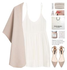 He gave me ring / 22.01 by shaniaayr on Polyvore featuring TNA, MANGO, Marie Turnor, Dogeared, Laura Mercier, Pottery Barn and Yves Saint Laurent