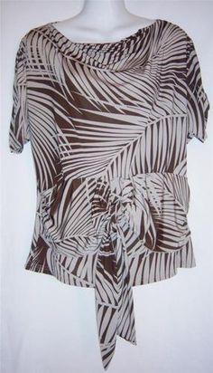 $24.99 Womens Small Top ** NEW ** BCBG Max Azria Small Blouse * Cute ~~~~~~~~~~