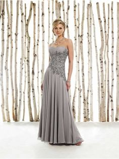 Chiffon Sweetheart Mother of the Brides Dress - Didobridal
