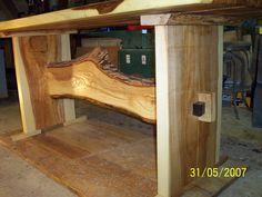 Ash swedish style trestle table   TC Woods, LLC Trestle Table Plans, Trestle Dining Tables, Dining Table Legs, Dining Table Design, Furniture Inspiration, Furniture Ideas, Outdoor Furniture, Cottage Diy Decor, Home Decor