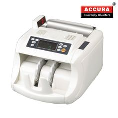 A currency counting machine or money counter is a device which calculates the amount of money that is being fed into it and can count either bundles of notes or an assortment of coins. Money counting machines have been traditionally made to be simply mechanical but the newer models use electronic components.