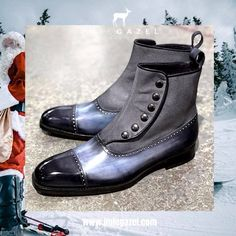 Make someone happy for Xmas 🎅🏻🎄🎁! Let him be an artist. Derby, Men's Shoes, Dress Shoes, Men's Collection, Shoe Box, Black Boots, Leather Boots, Combat Boots, Oxford Shoes