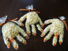 Popcorn hands! Awesome.