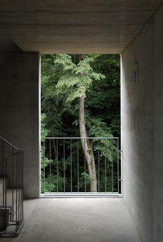 Apartment building in Cureglia, Switzerland by Bonetti e Bonetti Architetti + StefanoMoor.