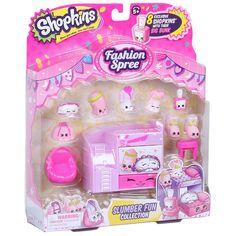 Shopkins Fashion Spree Season 5 Slumber Fun Collection Pack