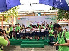 Cho thuê dù che-Gắn kết yêu thương trường THCS Long Phước quận 9