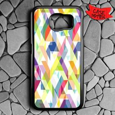 Aztec Geometric Samsung Galaxy S7 Black Case