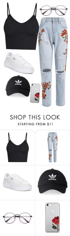 """""""you look nice"""" by definitelyalien on Polyvore featuring Puma and adidas"""