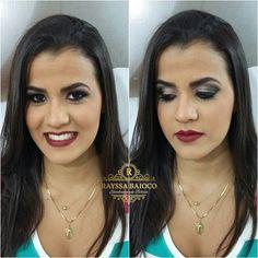 Make de sábado na linda Chris. .. 👄💋👄💋 #makelove #makeup #divamac #maccosmetics #nyxcosmetics #eyeliner #lipstick #eyelashes