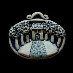 Pottery Classes, Clay Creations, Folk Art, Christmas Ornaments, Holiday Decor, Top, Miniatures, Kunst, Popular Art