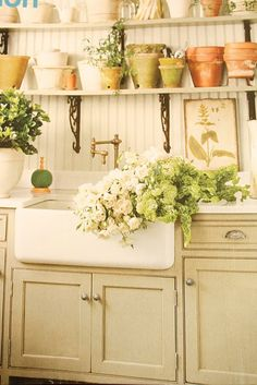 french cottage decorating ideas | My laundry room is getting a drastic makeover.