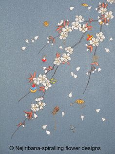 Japanese Embroidery - silks, fine needles, hoops. How is it different than western embroidery?