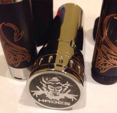 2 new mods arriving soon the black copper stingray clone and the big 26650 Hades clone