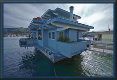 Floating homes Sausalito Californie de Rachel Laurence