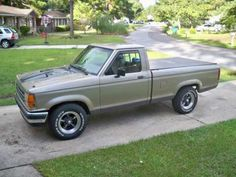 1990 ford ranger - my first car was one similar to this.  would love to have a vintage model like it again!