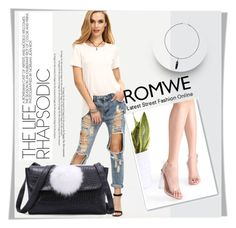 """""""ROMWE 14"""" by melissa995 ❤ liked on Polyvore"""