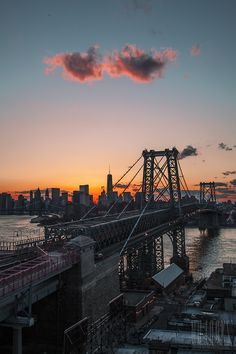 New York sunset by nulooks