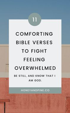 Read John and other Bible verses to comfort you when you are feeling overwhelmed, anxious, and full of fear. Via John and other Bible verses to comfort you when you are feeling overwhelmed, anxious, and full of fear. Bible Verse About Struggle, Bible Verses About Stress, Best Bible Verses, Bible Verses Quotes, New Quotes, Faith Quotes, Inspirational Quotes, Bible Verses For Depression, Bible Scriptures
