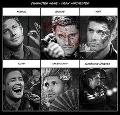 Character Meme - Dean Winchester