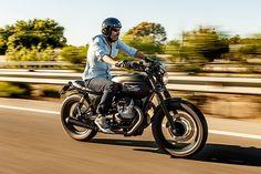 Moto Guzzi by Macco Motors Moto Guzzi Motorcycles, Motorcycle Bike, Custom Motorcycles, Custom Bikes, Moto Guzzi V7 Classic, Scrambler Custom, Custom Cafe Racer, Motorcycle Manufacturers, Street Bikes