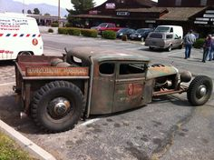 Rat Rod of the Day! - Page 29 - Rat Rods Rule / Undead Sleds - Hot Rods, Rat Rods, Beaters & Bikes. Rat Rod Cars, Hot Rod Trucks, Cool Trucks, Rat Rods, Dually Trucks, Dodge Trucks, Big Trucks, Pickup Trucks, Rat Fink