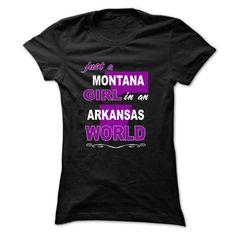 Montana Girls In Arkansas World - #hoodie drawing #sweatshirt quilt. GET IT => https://www.sunfrog.com/LifeStyle/Montana-Girls-In-Arkansas-Worl-Black-Ladies.html?68278