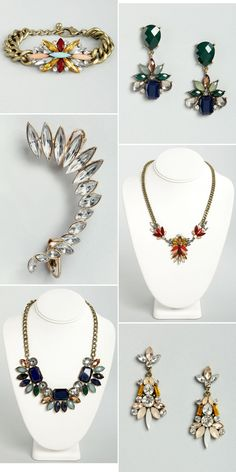 Statement Jewelry via lulus.com