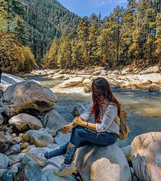 If you want to get absolutely bewitched by a place you can start with Kasol & Caption : __ Portrait Photography Poses, Photography Poses Women, Girl Photography Poses, Winter Photography, Creative Photography, Amazing Photography, Nature Photography, Best Photo Poses, Girl Photo Poses