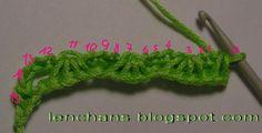 Вязание крючком от LenchaNS: Рисунок тунисского вязания