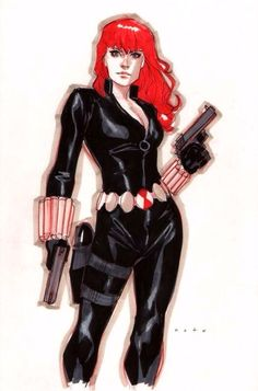 Black Widow by Phil noto, in patrick starnes's Black Widow Comic Art Gallery Room Black Widow Scarlett, Black Widow Natasha, Black Widow Aesthetic, Phil Noto, Natalia Romanova, Marvel Women, Marvel Girls, Female Reference, Drawing Reference