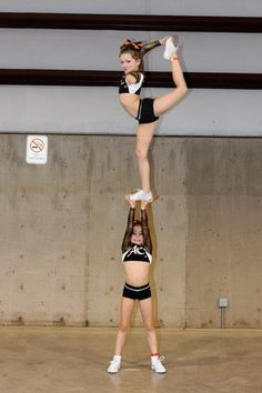 Your in the air Ryan Sales and um on the ground! We make a perfect cheer couple;)