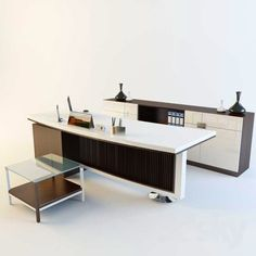 Office Furniture 3D Models Modern Office Furniture Max Vray Table